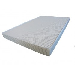 Matelas collectivité 100% latex d'origine naturelle